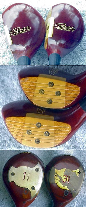 Porto Club Portable Golf Set