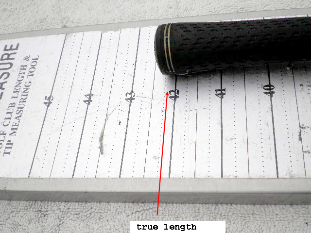 how to choose golf club length