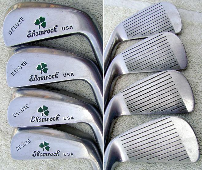 Shamrock Golf Deluxe  U0026 39 Hollowback U0026 39  Irons 3