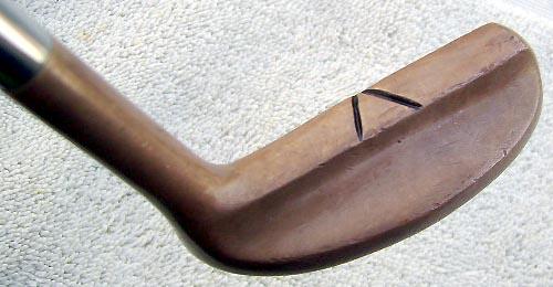 Wilson Julius Boros flanged blade brass putter